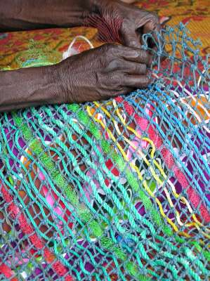 The talented weaving skills of Indigenous women