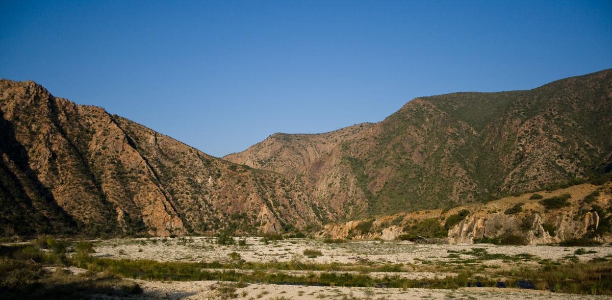 View from Rooihoek Campsite