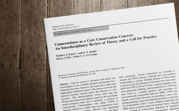 ConnectednessCoreConservationConcern